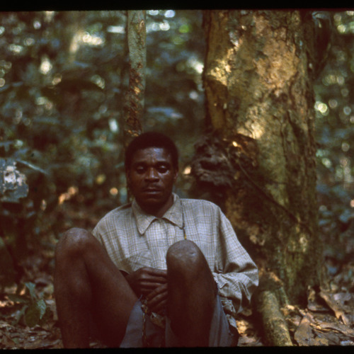 Mindumi playing mbyo with others singing (Central African Republic, 1989) [1997 21 2 341 (edited)]