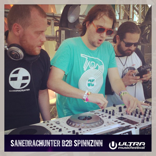 SanedracHunter & SpinnZinn at Ultra Music Festival 2013 Miami