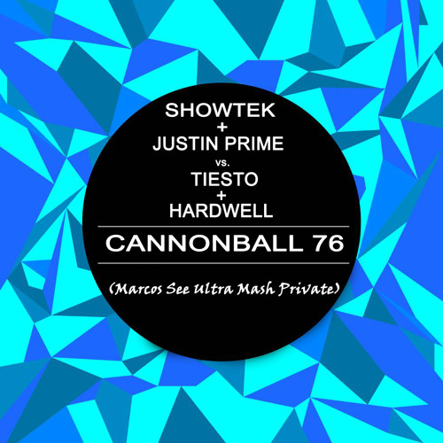 Showteck + Justin Prime vs. Tiesto + Hardwell - Cannonball 76 (Marcos Silva Bootleg) FREE DOWNLOAD