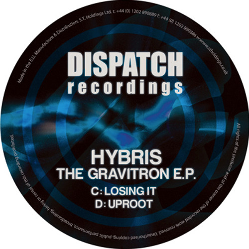 Hybris - Losing it - Dispatch Recordings 065C (CLIP) - OUT NOW
