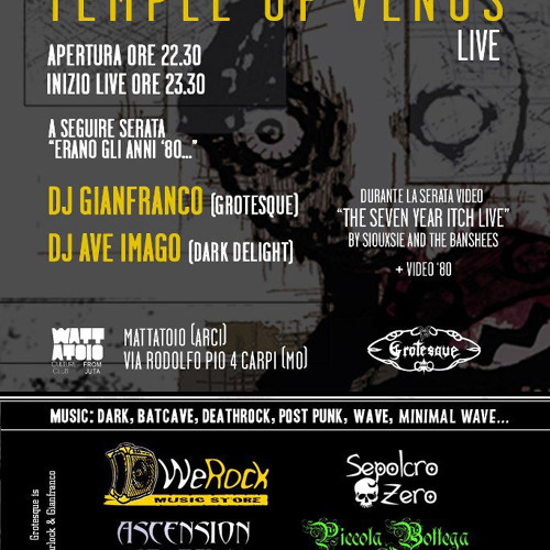 Temple of Venus LIVE @ Mattatoio - 2013
