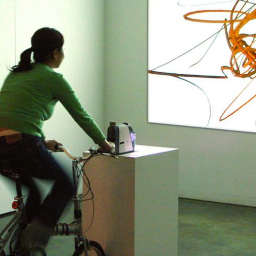 Fluid Velocity - (interactive installation, audio-visual) Beilharz