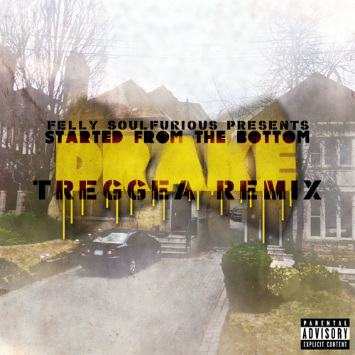 [FREE DOWNLOAD] Drake - Started from the Bottom - Felly Soulfurious Treggea Remix