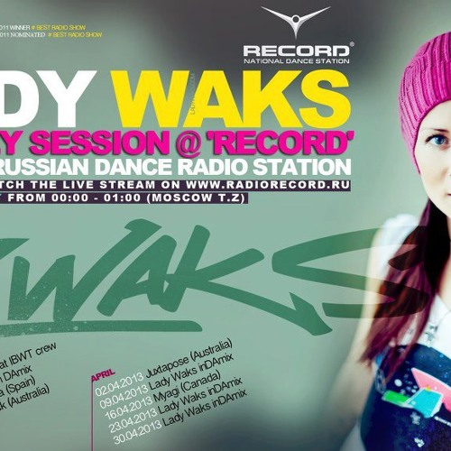 Micah Black - DJ Mix for Lady Waks' Radio Records Radio show