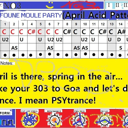 Foune Moule Party - April Acid Pattern