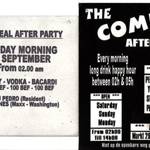 dj pedro @ afterclub comix 26 september 1999 side A and B
