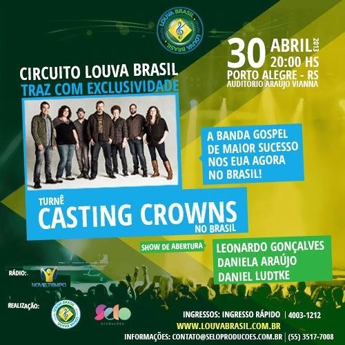 Casting Crowns em Porto Alegre