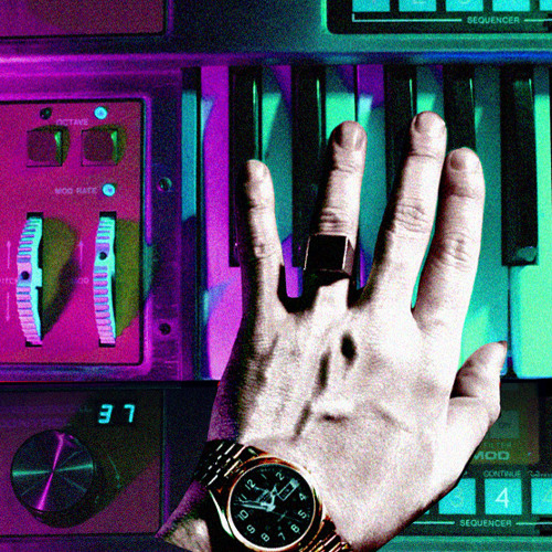 """CHROMATICS """"Tick of the Clock""""   Official Remix     (Visione's The Stroke of Midnight Remix)"""