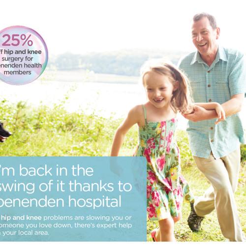 benenden hospital hip & knee advert