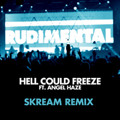 Rudimental Hell Could Freeze Ft. Angel Haze (Skream Remix) Artwork
