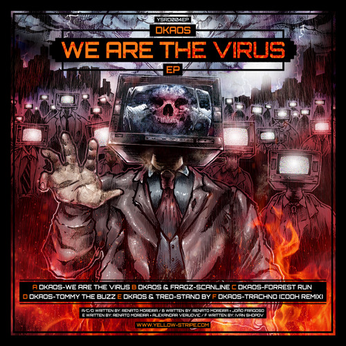 YSRD004EP - Dkaos - We are the Virus EP