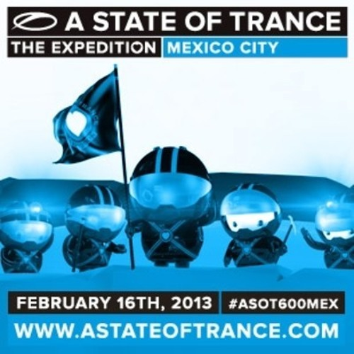 Protoculture & Max Graham back to back at A State of Trance 600 Mexico City