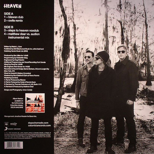 A1 Depeche Mode - Heaven (blawan dub)