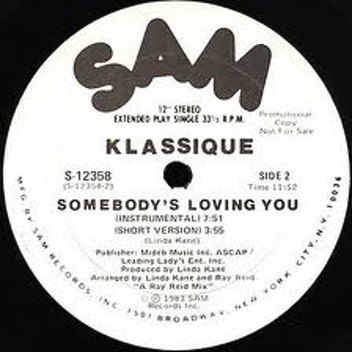 Klassique  - Somebody is loving you (Thomass Jackson Edit) FREE DOWNLOAD