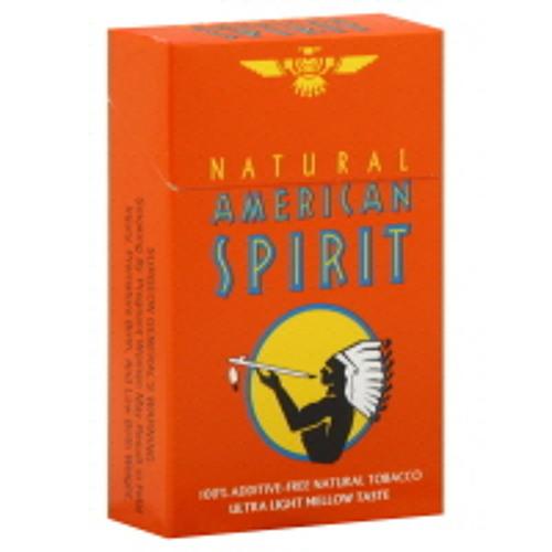 Natural American Spirit Smooth Mellow Taste