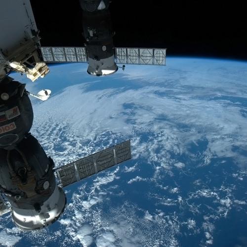 Soyuz Docking with Station