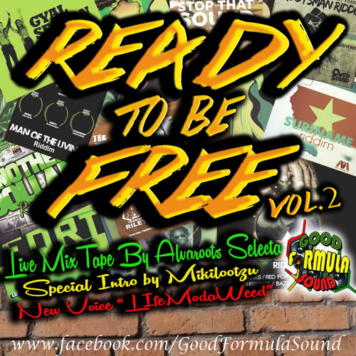 READY TO BE FREE VOL.2 LIVEMIX BY ALVAROOTS -2013