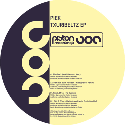 Piek & Efron - Ma Business (Hector Couto Dub Mix)