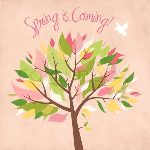 Springtime Welcomes April.