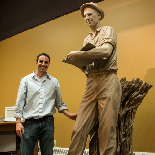Sculpture of Norman Borlaug Nears Completion - 3/30/2013