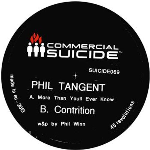 PHIL TANGENT - More than you'll ever know - 8th Apr 2013