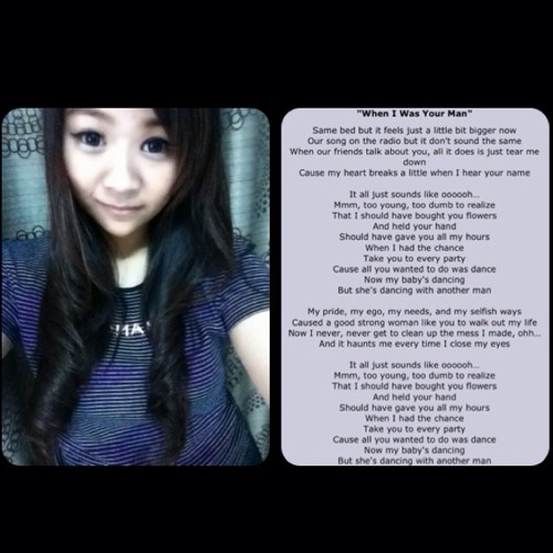 When I Was Your Man - Bruno Mars ( Cover )