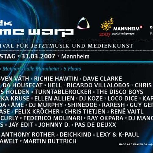 Dj Hell - Timewarp 31.03.2007