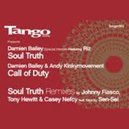 Damien Bailey and ilevel  ft Riz - Soul truth Tango records