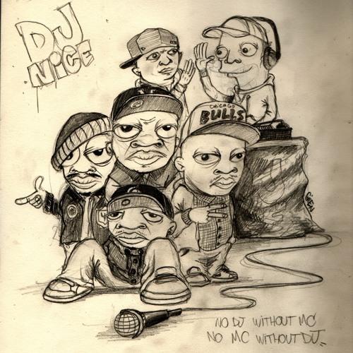 Dj Nice feat Nutso,Koron,Lambo & K-Tone - No MC without DJ,No DJ without MC  (Metronom Remix)