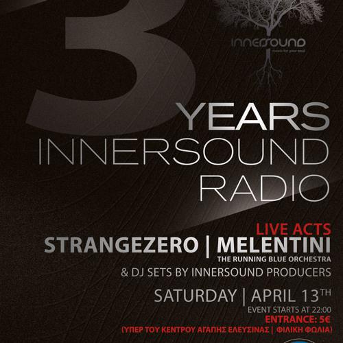 Spot - 3 Years Innersound Radio   Φιλανθρωπική Eκδήλωση