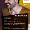 Manu Vulcano Live Barraca Music (Valencia) 28-03-2013