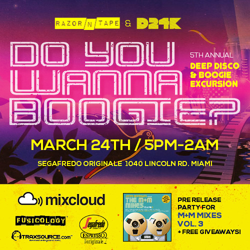 Aaron Dae & DEL Live @ Do You Wanna Boogie? WMC '13