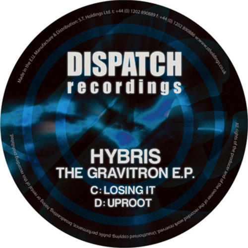 Hybris - Losing it - Dispatch Recordings 065C (CLIP) - release date 01.04.13