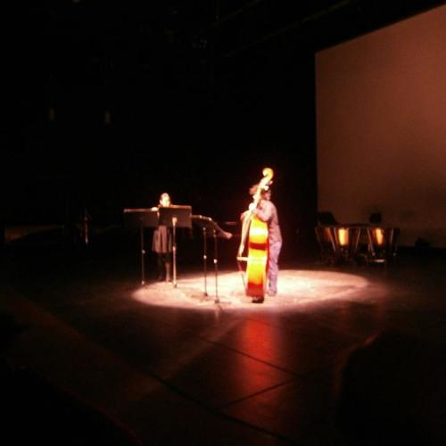 Aigerim Seilova 'Schattenspiel im Spiegel' - Ye Zhao (flute), Tair Turganov (contrabass)
