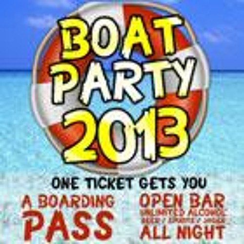 BOAT PARTY PROMO PREVIEW MIX - DJ WATS'ON