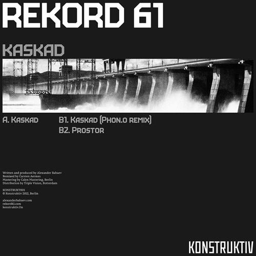 REKORD 61 - Kaskad (PHON.O Remix) Clip