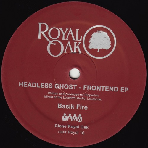 Headless Ghost - Basik Fire  - Clone Royal Oak