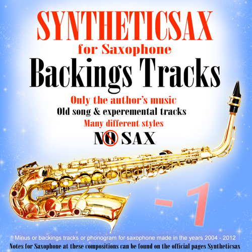 Syntheticsax - Old Disco (Backing Track)