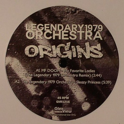 GVR1216 — The Legendary 1979 Orchestra — Origins 12""