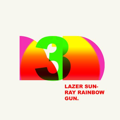 Lazer Sun-ray Rainbow Gun