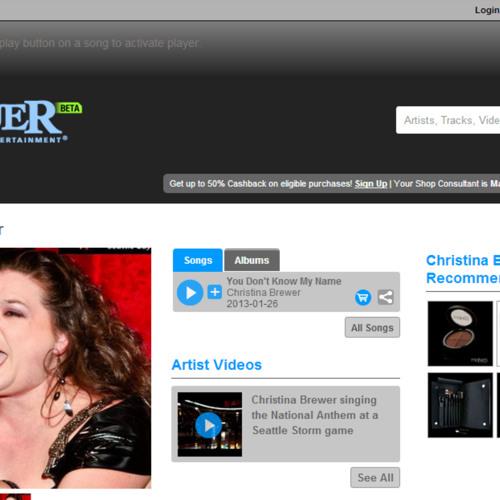 LIVE-You Dont Know My Name -getConquer.com usa-ChristinaBrewer