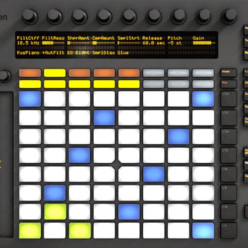 Push It 01 (fun with Ableton Push)