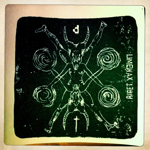 "Riget - Limewax (PRSPCT 021) Limited engraved 7"" vinyl release out May 27th 2013!!"