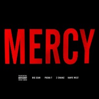 Kanye West Mercy (Ft. Big Sean, Pusha T & 2 Chainz) Artwork