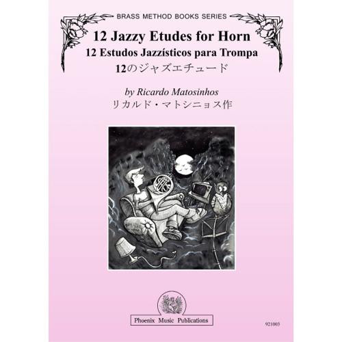 12 Jazzy Etudes for Horn