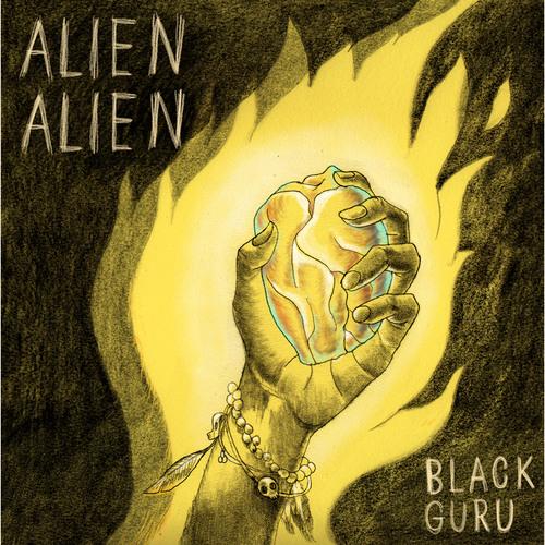 ALIEN ALIEN - Black Guru - SLOWMOTION 12' VINYL
