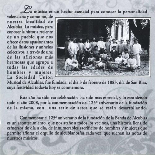 Himno de Alcublas de R. Civera-E. Esteve