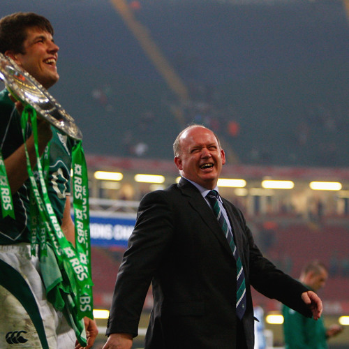 Who will replace Declan Kidney as Irish rugby coach?