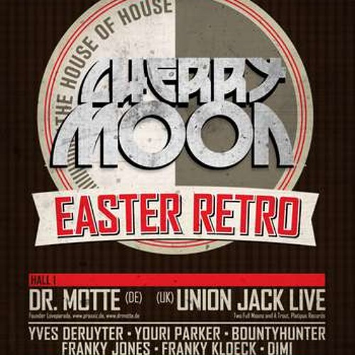 Youri Parker @ Cherry Moon - Easter Retro 2013 (20130331)