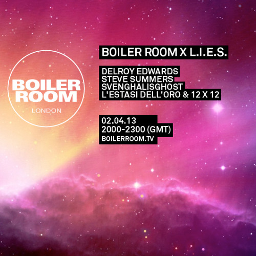 Steve Summers LIVE in the Boiler Room